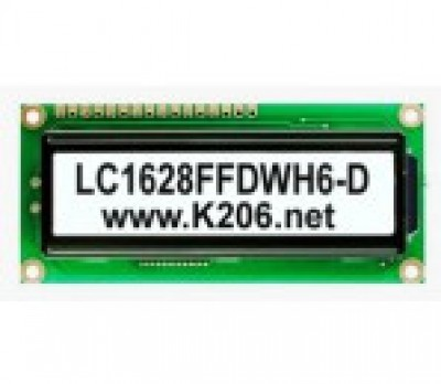 LC1628FFDWH6-D-CT (WH1602B-TFH-CT)
