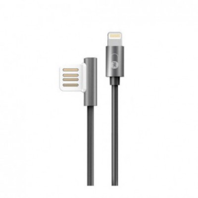 Charging Cable WK Dual Side LIGHTNING Black 1m