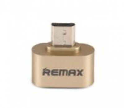 REMAX OTG Adapter USB 2.0/Micro USB Gold