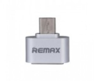 REMAX OTG Adapter USB 2.0/Micro USB Silver